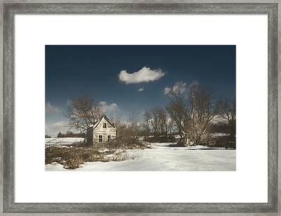 Frozen Stillness Framed Print by Scott Norris