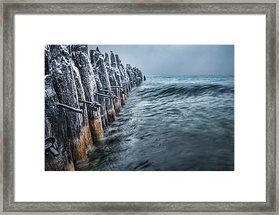 Framed Print featuring the photograph Frozen Tender by Thomas Gaitley
