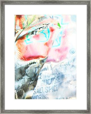 Fructose And Spice Framed Print