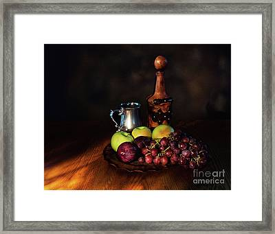 Framed Print featuring the photograph Fruit And Spirit by Mark Miller