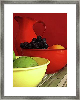 Fruit Art  Framed Print