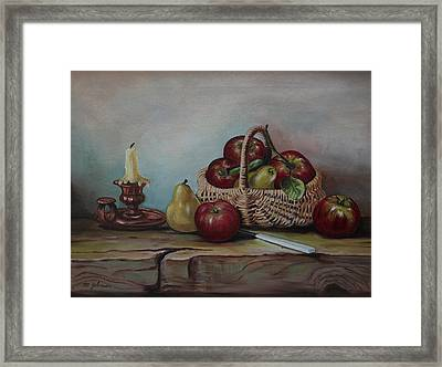 Fruit Basket - Lmj Framed Print