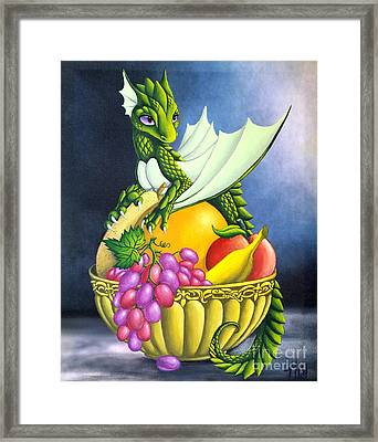 Fruit Dragon Framed Print