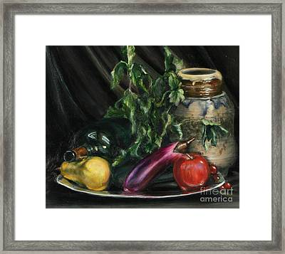 Fruit Framed Print by Lori McCray
