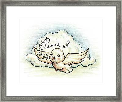 Fruit Of The Spirit Peace Framed Print