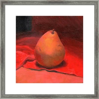 Fruit Of The Spirit- Pear 2 Framed Print