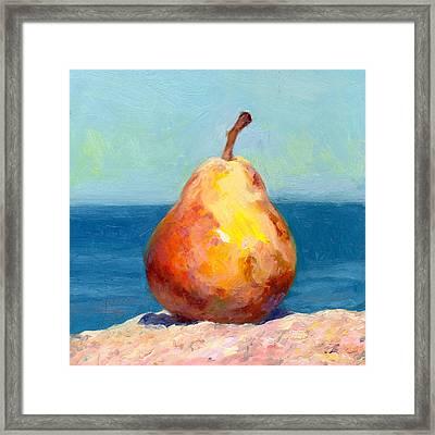 Fruit Of The Spirit- Pear 4 Framed Print