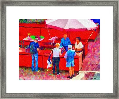 Fruit Of The Vendor Framed Print