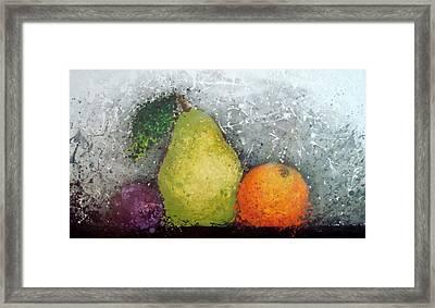 Fruit Framed Print by Paula Weber