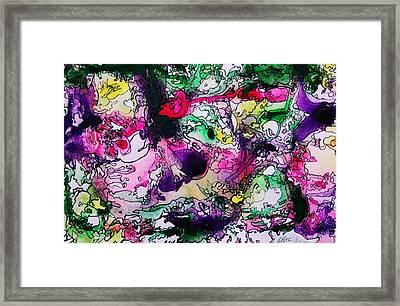 Fruit Punch Framed Print by Betty Lu Aldridge