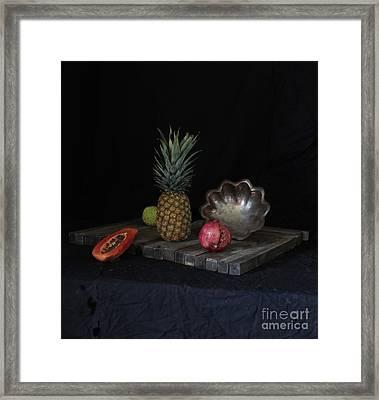 Fruit Rearranged Framed Print by Joe Jake Pratt