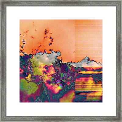 Fruit Salad Framed Print by Wendy J St Christopher