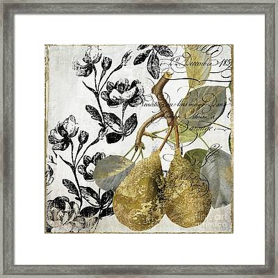 Fruit Shimmer II Framed Print