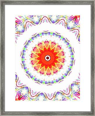 Fruit Star Framed Print by Ritchard Mifsud