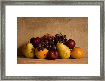 Fruit Still Life Framed Print by Andrew Soundarajan