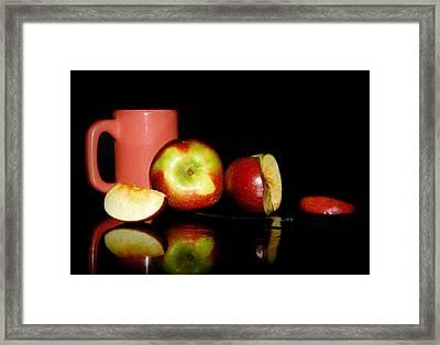 Fruit Tea Framed Print