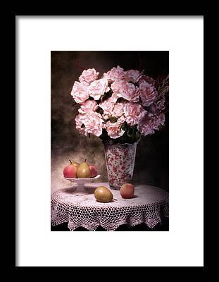 Pear Blossoms Framed Prints