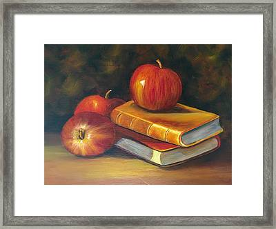 Fruitful Afternoon Framed Print