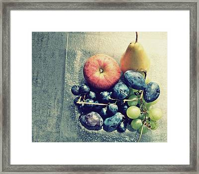 Fruitful Autumn Framed Print