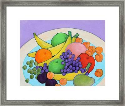 Fruitilicious Framed Print by Lorraine Klotz