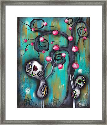 Fruits Framed Print by  Abril Andrade Griffith