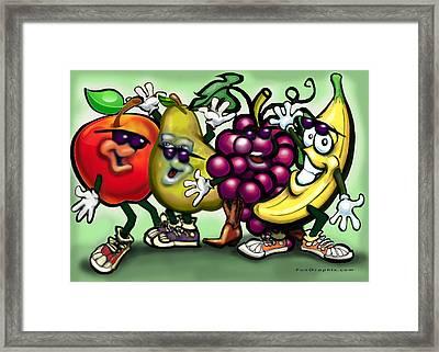 Fruits Framed Print by Kevin Middleton