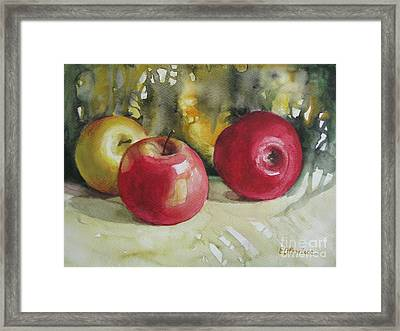 Framed Print featuring the painting Fruits Of The Earth by Elena Oleniuc