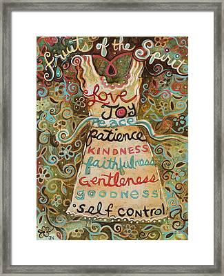 Fruits Of The Spirit Framed Print