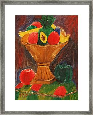Fruits Still Life Framed Print