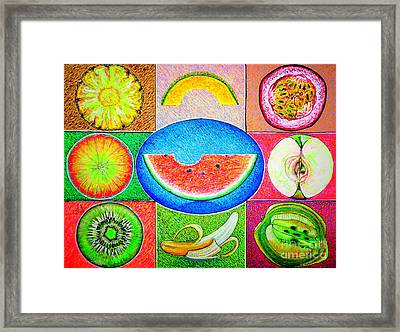 Fruits Framed Print by Viktor Lazarev
