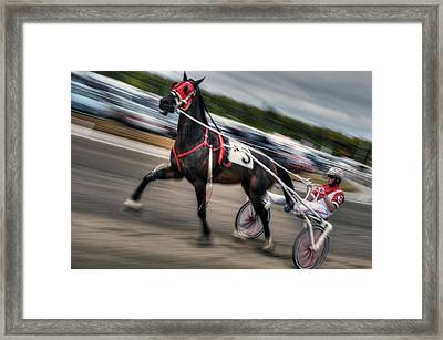 Fryburg Fair Races Framed Print