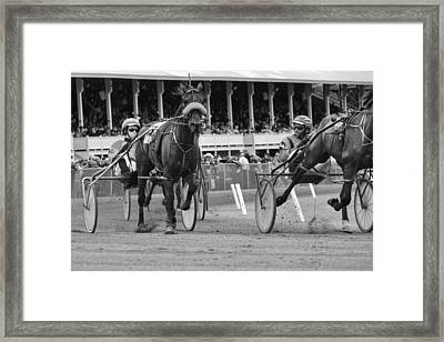 Fryburg Races Framed Print
