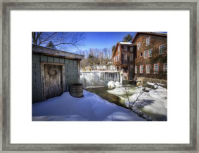 Frye's Measure Mill Framed Print by Eric Gendron