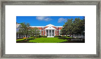 Fsu College Of Law Framed Print