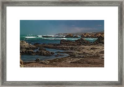 Ft Bragg Coast Framed Print