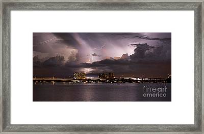 Ft Myers Nights Framed Print