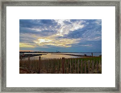 Ft Smallwood Launch Framed Print by Brian Wallace