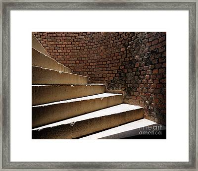 Ft. Taylor Stairs Framed Print