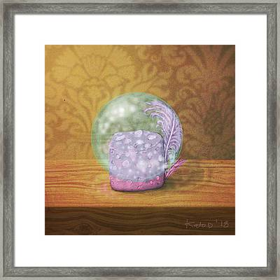 Ftf In A Bubble Framed Print