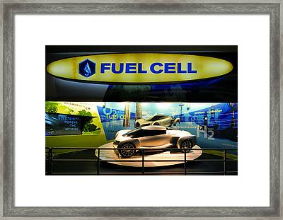 Fuel Cell Tech Framed Print