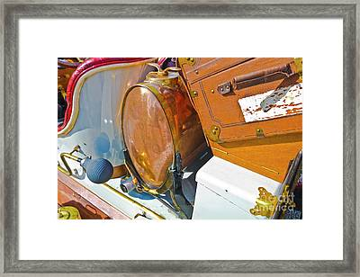 Fuel For The Ride Framed Print