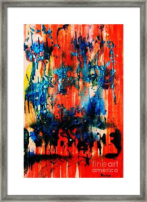 Fueled By Desire Framed Print by Roberto Prusso
