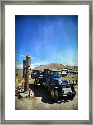 Fuelin' Up Framed Print by Laurie Search