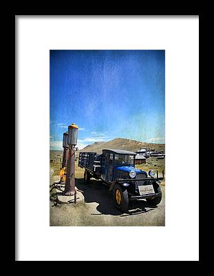 Bodie Ghost Town Framed Prints