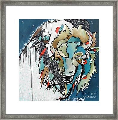 Fueling The Fire Framed Print