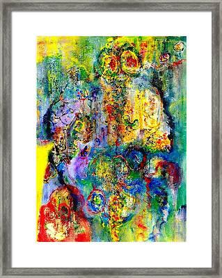 Fugacious Framed Print by Chitra Ramanathan