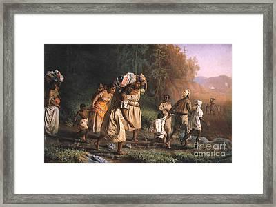 Fugitive Slaves, 1867 Framed Print by Granger