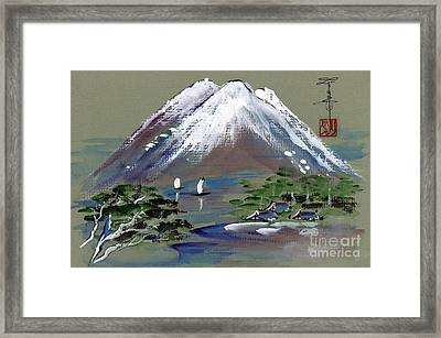 Fuji Framed Print by Linda Smith