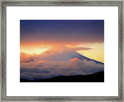 Fuji Sam Framed Print