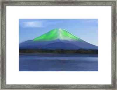 Fuji Framed Print